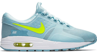 Nike Air Max Zero Glacier Blue Volt (GS) 881229-400