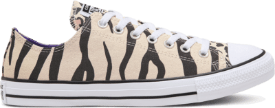 Converse Twisted Archive Prints Chuck Taylor All Star Low Top Shoe Driftwood/Black/Light Fawn 166717C