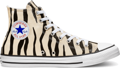 Converse Unisex Archive Print Chuck Taylor All Star High Top Black/ White 166258C