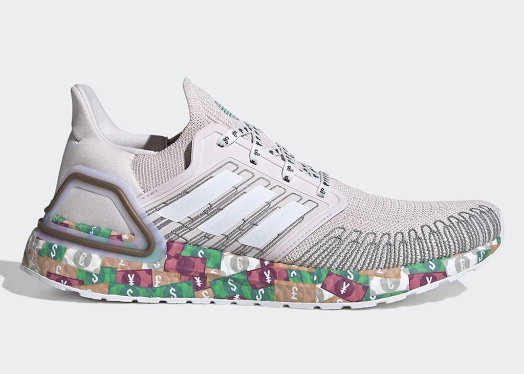 "Dollar dollar bill yall: adidas Ultra Boost ""World Currency"""
