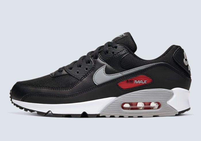 Nike Air Max 90 bred zwart rood