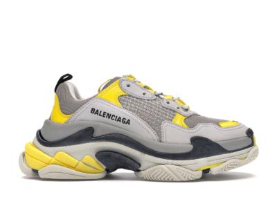 Balenciaga Triple S Grey Yellow (W) 524039W09OH7074