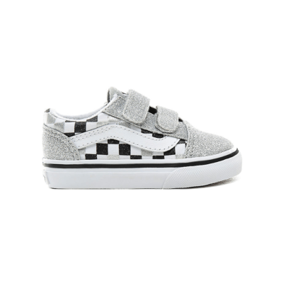 VANS Glitter Checkerboard Old Skool V Voor Peuters  VN0A38JNV3J