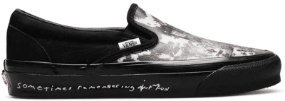 Vans Classic Slip-On LX Jim Goldberg Black Wall VN0A45JK025