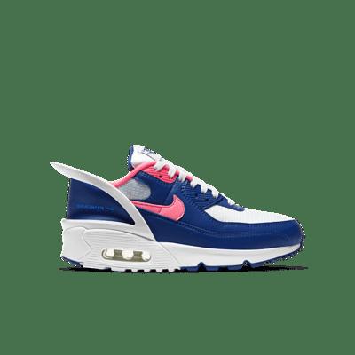 Nike Air Max 90 Flyease Deep Royal Blue Hyper Pink (GS) CV0526-101