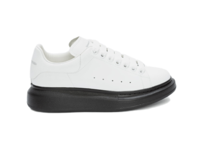 Alexander McQueen Oversized White Black Sole (W) 553770WHTQ49061