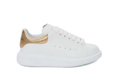 Alexander McQueen Oversized Light Gold 553680WHNBG9075