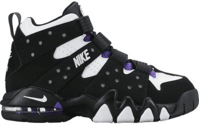 Nike Air Max 2 CB 94 Black White Purple 2015 (GS) 309560-007