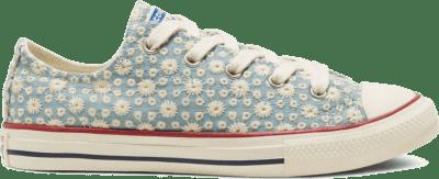 Converse CTAS OX WASHED DENIM/GARNET Washed Denim/Garnet 668034C
