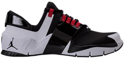 Jordan Alpha Trunner Black White Gym Red 919714-002