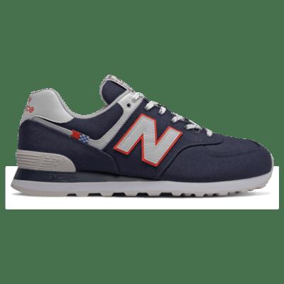 Herren New Balance 574 Navy/White ML574SOP