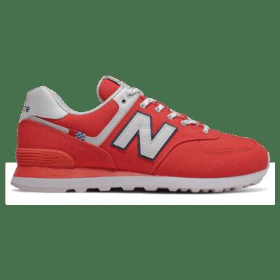 Herren New Balance 574 Toro Red/White ML574SOL