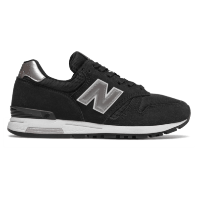 New Balance 565  Black/Metallic Silver/White WL565KGW