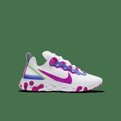 Nike React Element 55 Wit BQ2728-104
