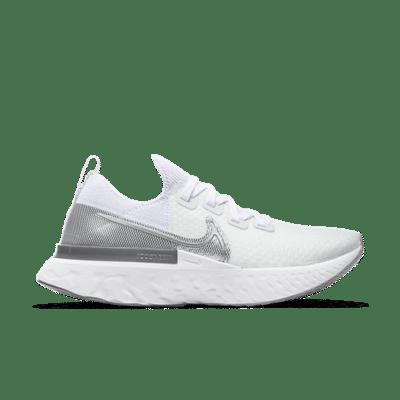 Nike React Infinity Run Flyknit True White (W) CD4372-101