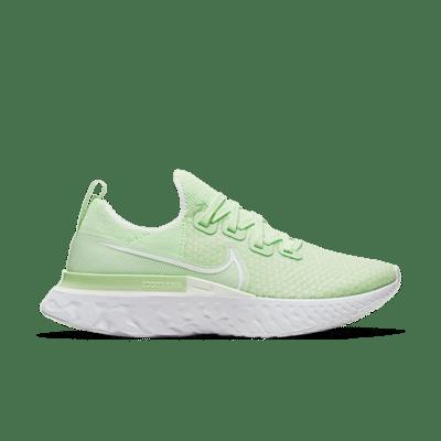 Nike React Infinity Run Flyknit Groen CD4372-300