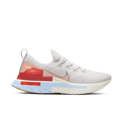 Nike Wmns React Infinity Run Flyknit 'Psychic Blue Coral' White CU0430-001
