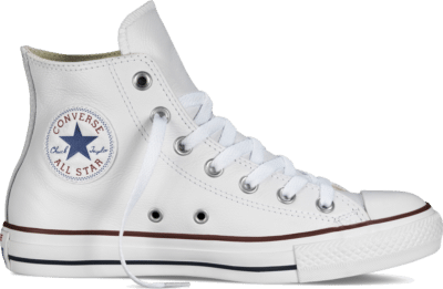 Converse Chuck Taylor All Star Leather Hi White  132169C