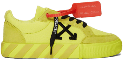 OFF-WHITE Vulc Low Yellow Canvas FW19 (W) 192607F128027