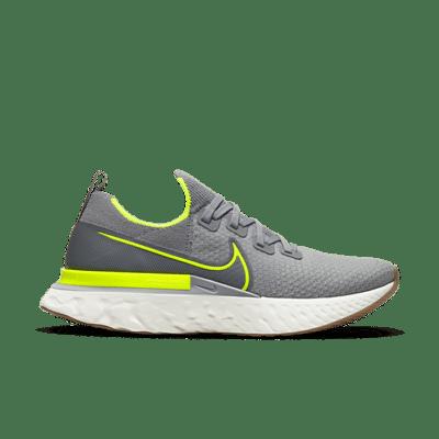Nike React Infinity Run Particle Grey Volt CD4371-008