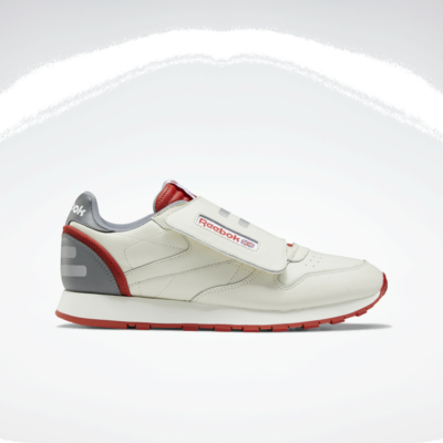Reebok Classic Leather Stomper Chalk / Legacy Red / Pure Grey 6 EF3374