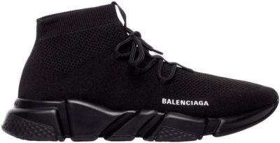 Balenciaga Speed Lace Up Triple Black 587289 W1701 1013