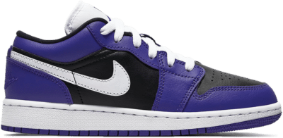 Jordan 1 Low Court Purple Black (GS) 553560-501