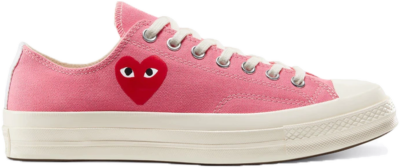 Converse Chuck Taylor All-Star 70s Ox Comme des Garcons Play Bright Pink 168304C