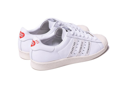 "adidas Originals SUPERSTAR 80s HUMAN MADE ""WHITE"" FY0730"