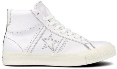 Converse One Star Academy Pro High Top White 167504C