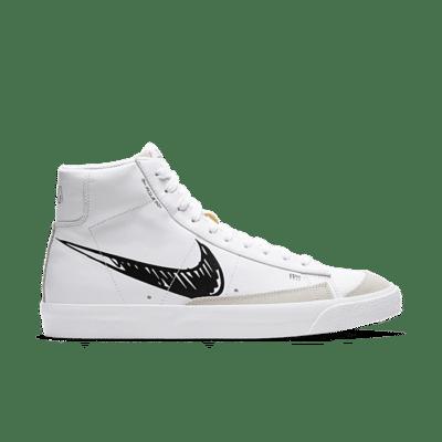 """Nike Blazer Mid Vintage '77 """"White"""" CW7580-101"""