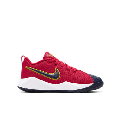 Nike Team Hustle Quick 2 University Red Navy (GS) AT5298-602