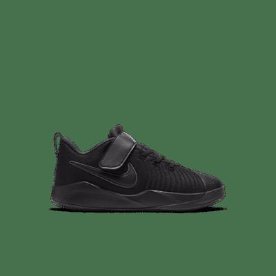 Nike Team Hustle Quick 9 Black (PS) AT5299-001