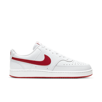 NikeCourt Vision Low White University Red CD5463-102