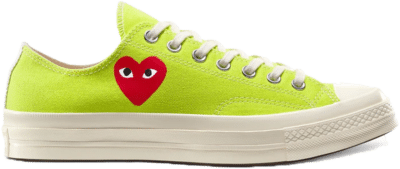 Converse Chuck Taylor All-Star 70s Ox Comme des Garcons Play Bright Green 168302C