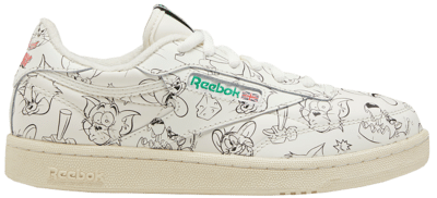 "Reebok x TOM & JERRY CLUB C 85 MU ""Chalk Green"" FX4012"