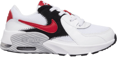 Nike Air Max Excee White University Red (PS) CD6892-105