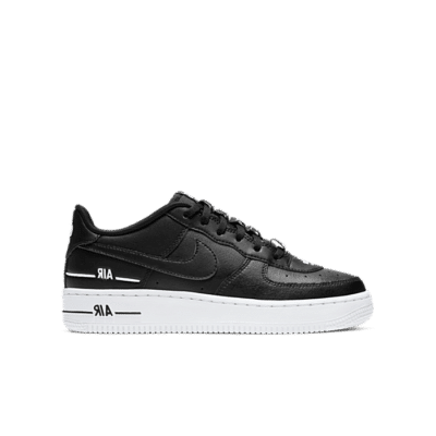 "Nike AIR FORCE 1 LV8 3 (GS) ""BLACK"" CJ4092-001"