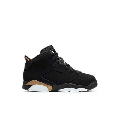 "Air Jordan 6 RETRO DMP (PS) ""Black"" CT4965-007"