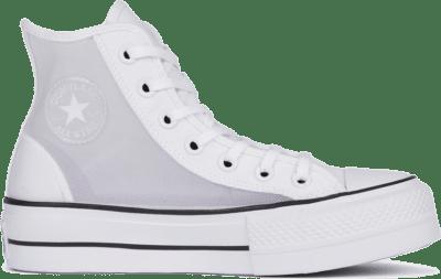 Converse CTAS LIFT HI WIT/ZWART White/Black/Moonstone Violet 568936C
