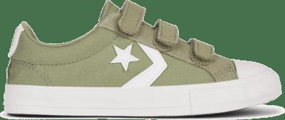 Converse Ripstop Easy-On Star Player Low Top voor kids Street Sage/Vintage White 667545C