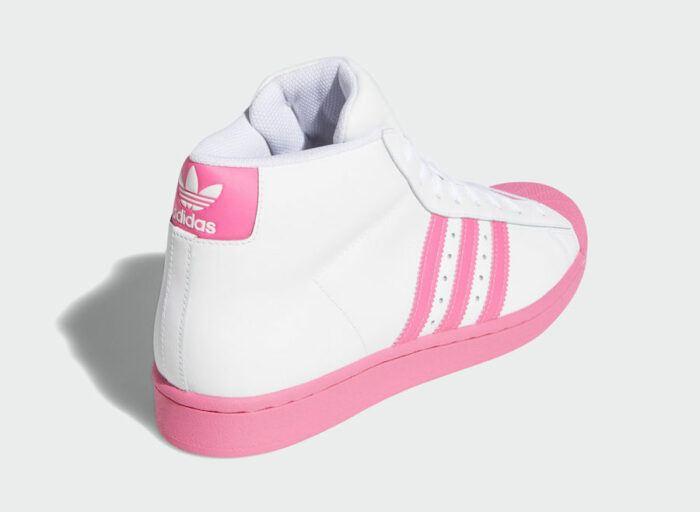 pro model Adidas pink men