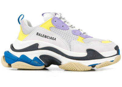 Balenciaga Triple S Purple Yellow Blue (W) 524039 W09O M9465