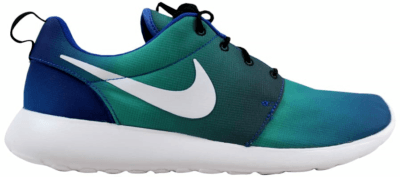 Nike Roshe One Print Game Royal/White-Light Retro-Midnight Navy 655206-414