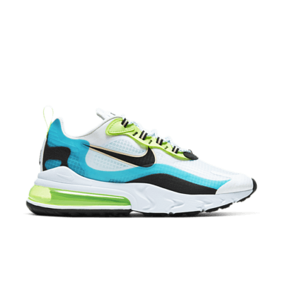 Nike Air Max 270 React Oracle Aqua Ghost Green CT1265-300