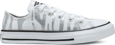 Converse Archive Zebra Chuck Taylor All Star Low Top voor kids White/ Black 667604C