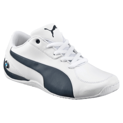 Puma BMW Motorsport Drift Cat 5 Leather sportschoenen Wit / Blauw 360965_02