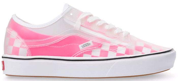 Vans ComfyCush Slip-Skool Checkerboard Knockout Pink VN0A4P3EWYI