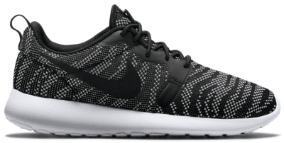 Nike Roshe Run Jacquard White Black (W) 705217-100