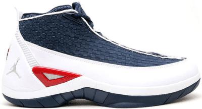 Jordan 15 SE White Navy Red 317112-161